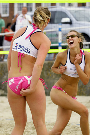 Beachvolleyballerinnen